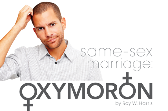 gay marriage an oxymoron thesis Gay marriage is an oxymoron because it' how is gay marriage an oxymoron you contradict yourself in the use of the definition of oxymoron.